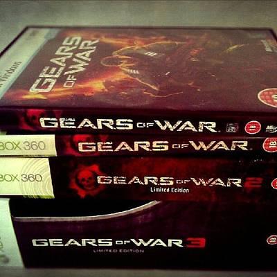 Gears Wall Art - Photograph - Gears Of War Collection @raczilla @flak by Dan Slade
