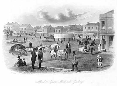 Geelong, Victoria, 1857 Art Print