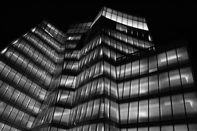 Photograph - Gehry At Night by Christopher Kirby