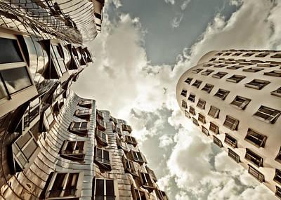 Photograph - Gehry Duesseldorf by Frank Waechter