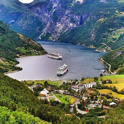 Travel Wall Art - Photograph - Geiranger Fjord by Luisa Azzolini