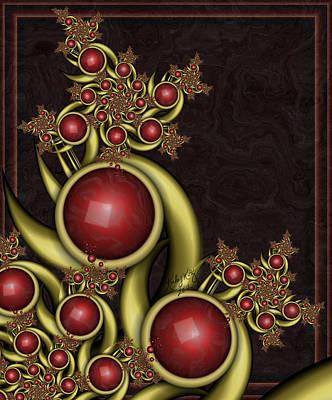Gem Berries Art Print