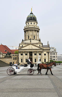 Photograph - Gendarmenmarkt Berlin Germany by Matthias Hauser