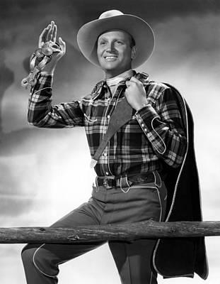 Gene Autry, C. 1940s Art Print by Everett