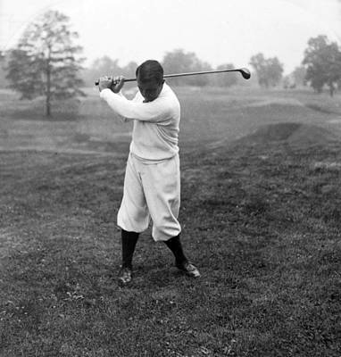 Art Print featuring the photograph Gene Sarazen - Professional Golfer by International  Images