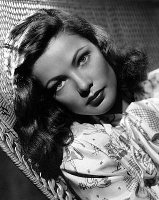 Publicity Shot Photograph - Gene Tierney, 1947 by Everett