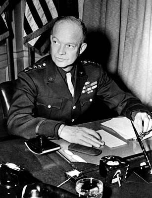 General Dwight D. Eisenhower, January Art Print by Everett