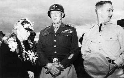 General George S. Patton Jr. Center Art Print