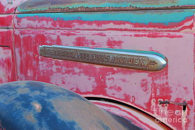 Photograph - General Motors Truck Number 1 by Heather Kirk