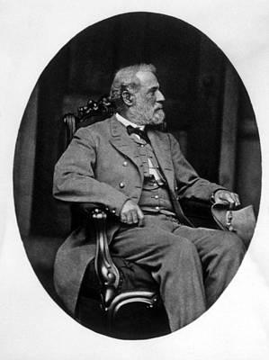 General Robert E. Lee 1807-1870 Art Print by Everett