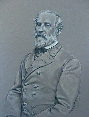 General Robert E Lee Drawing - General Robert E. Lee by Deanna Nash