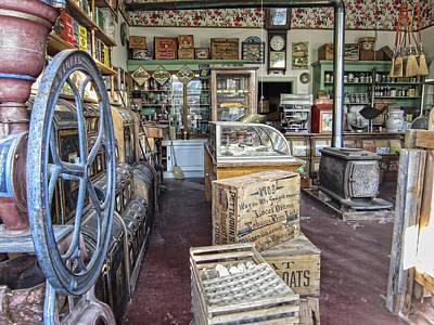 General Store 2 - Virginia City Ghost Town - Montana Art Print by Daniel Hagerman