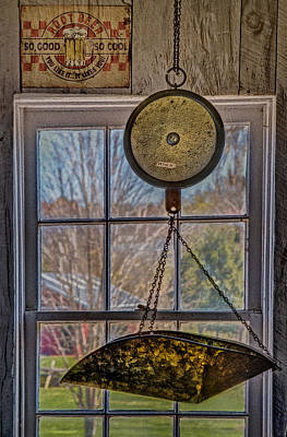 Photograph - General Store Scale by Susan Candelario