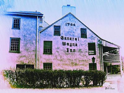 General Wayne Inn - Merion Pennslyvania Art Print by Bill Cannon