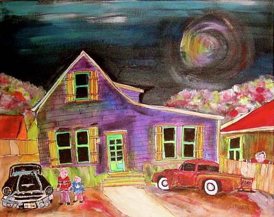 Litvack Painting - Generation Battle by Michael Litvack