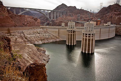 Photograph - Generators Of Hoover Dam by Anthony Doudt