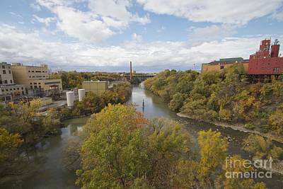 Art Print featuring the photograph Genesee River by William Norton