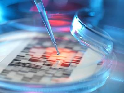 Genetic Research, Conceptual Image Art Print by Tek Image