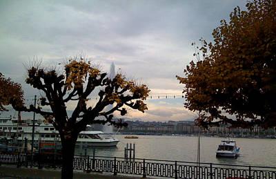 Photograph - Geneve-8 by Rezzan Erguvan-Onal