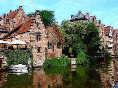 Gent Art Print by Steve K