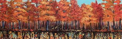 Gentle Autumn Breeze Art Print by Tammy Watt
