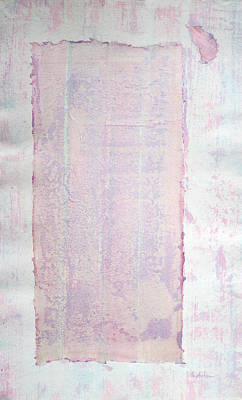 Painting - Gentle Passageway In Pink And Purple by Asha Carolyn Young