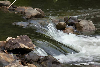 Art Print featuring the photograph Gently Down The Stream by John Crothers