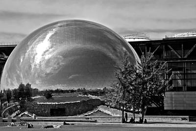 Photograph - Geodesic Dome by Eric Tressler