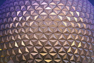 Disney Photograph - Geodesic Giant by Stuart Rosenthal