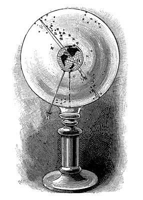 Geodoscope, 19th Century Art Print by