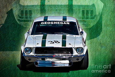 Photograph - Geoghegan Mustang 2 by Stuart Row