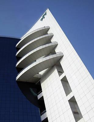 Futurism Architecture Wall Art - Photograph - Geometric by Farah Faizal