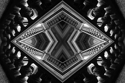 Photograph - Geometric Play by Jesus Nicolas Castanon