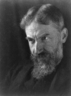 Realism Photograph - George Bernard Shaw 1856-1950 by Everett