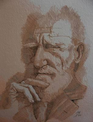 Drawing - George Bernard Shaw by Ray Agius