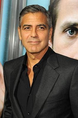 George Clooney At Arrivals For The Ides Art Print by Everett