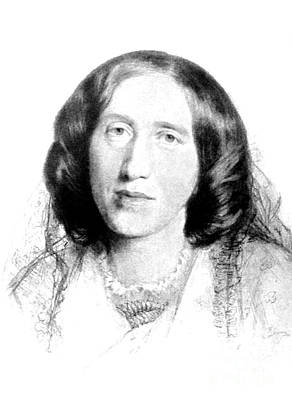 George Eliot, English Author Print by Photo Researchers