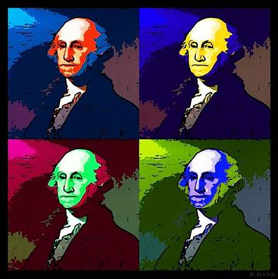 Photograph - George In Colors by Rob Hans