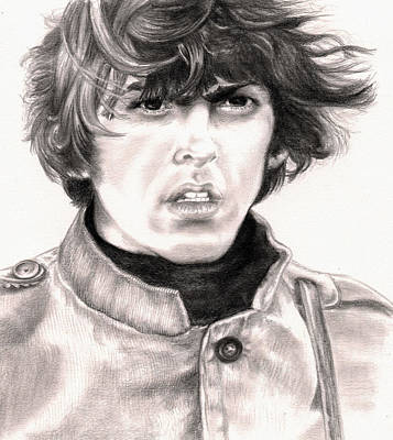 Drawing - George by Kathleen Kelly Thompson
