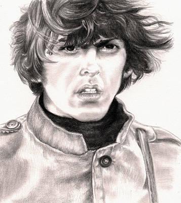 George Art Print by Kathleen Kelly Thompson