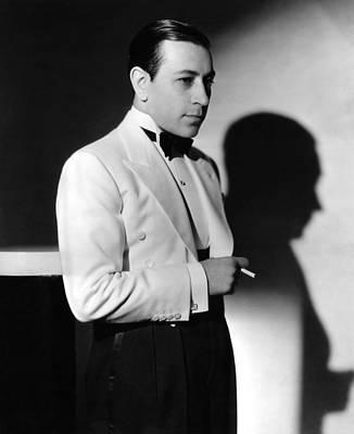 Lapel Photograph - George Raft, Ca. 1934 by Everett