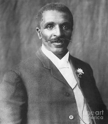 George Washington Carver Photograph - George W. Carver, African-american by Science Source