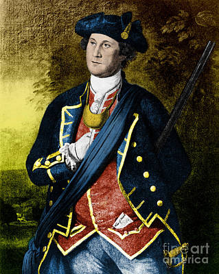 George Washington, 1st American Print by Photo Researchers, Inc.