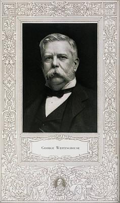 George Westinghouse, American Engineer Art Print
