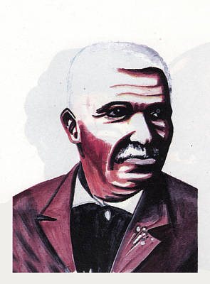 Georges Washington Carver Art Print by Emmanuel Baliyanga
