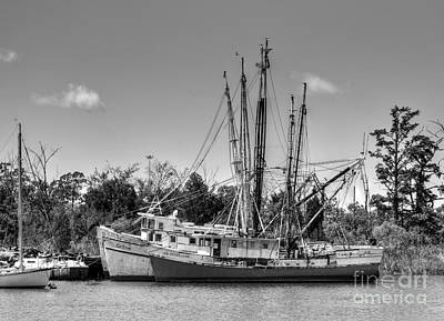 Photograph - Georgetown Shrimping Boats by Kathy Baccari
