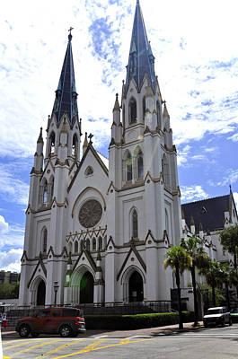 Photograph - Georgia Catholic Church by Helen Haw