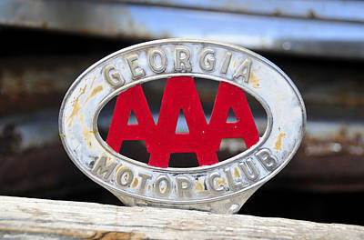 Georgia Motor Club Art Print
