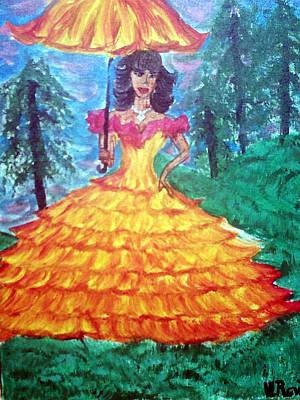 Painting - Georgia Peach by Violette Meier