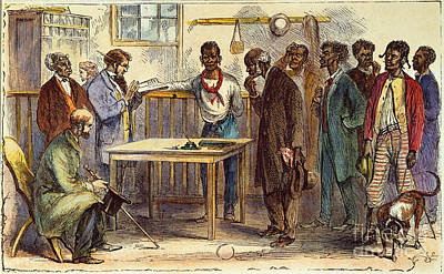 Ballot Wall Art - Photograph - Georgia: Voters, 1867 by Granger